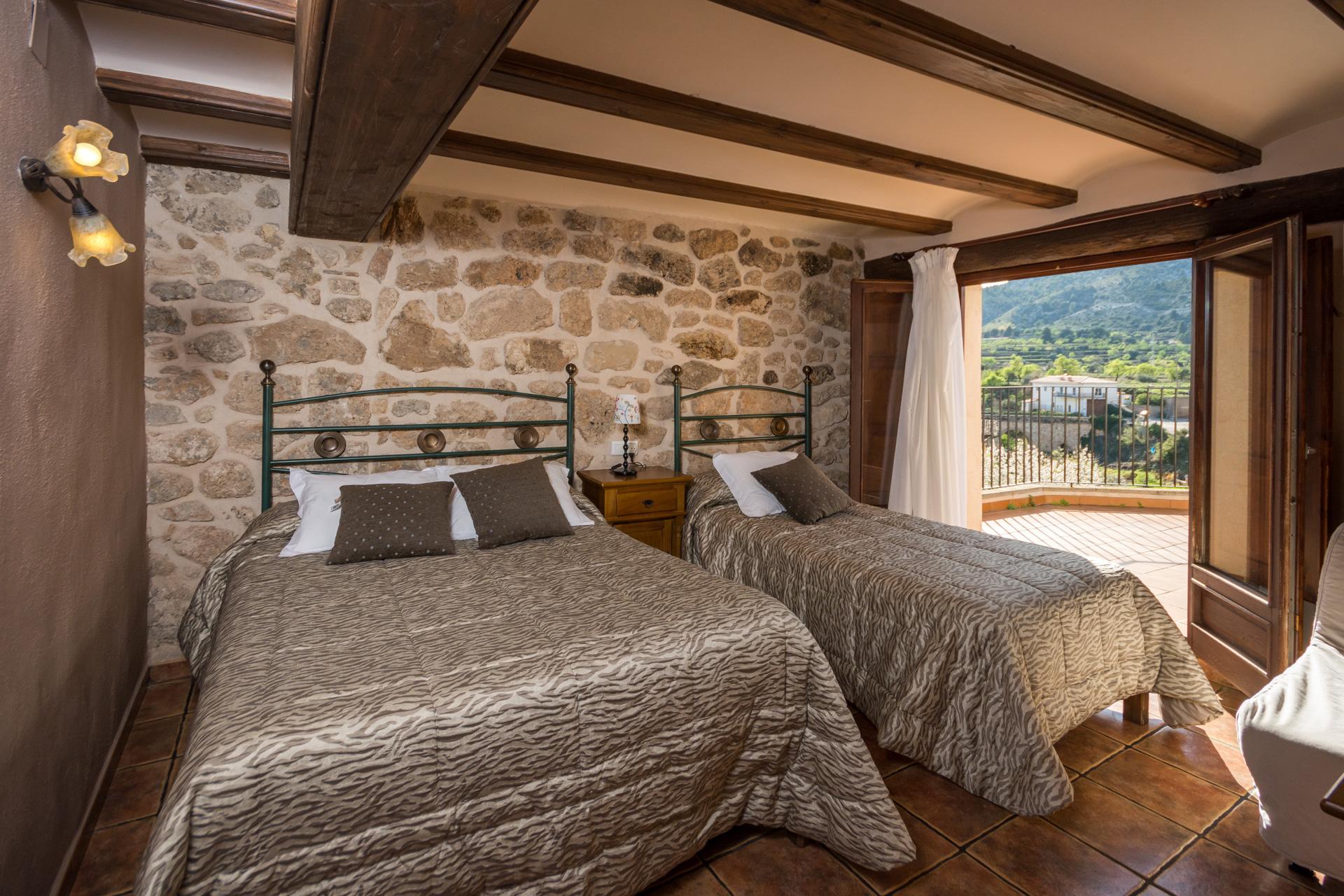 Habitación Matilde - Antigua Posada Roda de Beceite