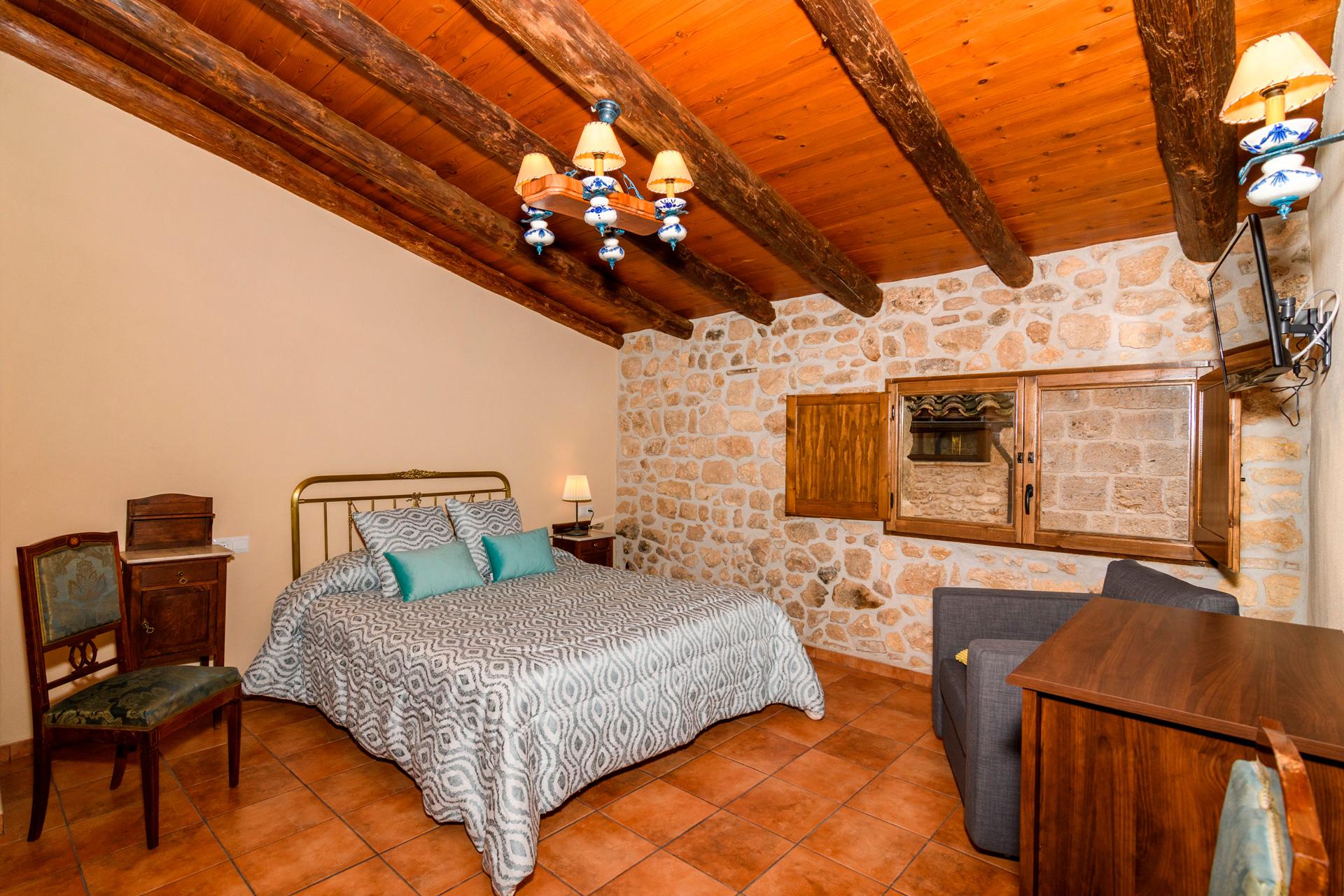 Habitación Rodeta - Antigua Posada Rodade Beceite