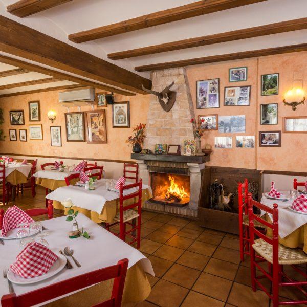 Restaurante - Antigua Posada Roda en Beceite // © Bruno Durán